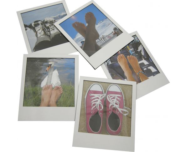 Cadres photos magnets Polaroid - Lot de 5