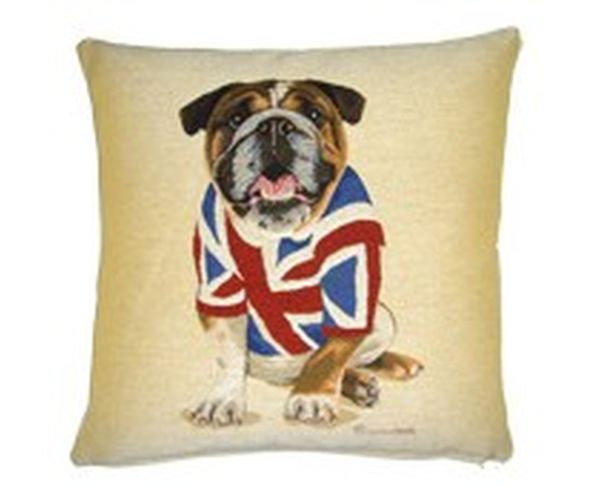 Coussin British Bulldog Shirt