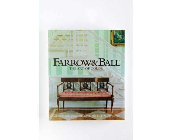 "Livre ""The art of colour"" - Farrow & Ball"