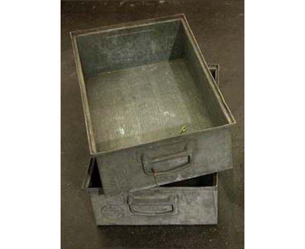 Bac de rangement Vintage métal Philips