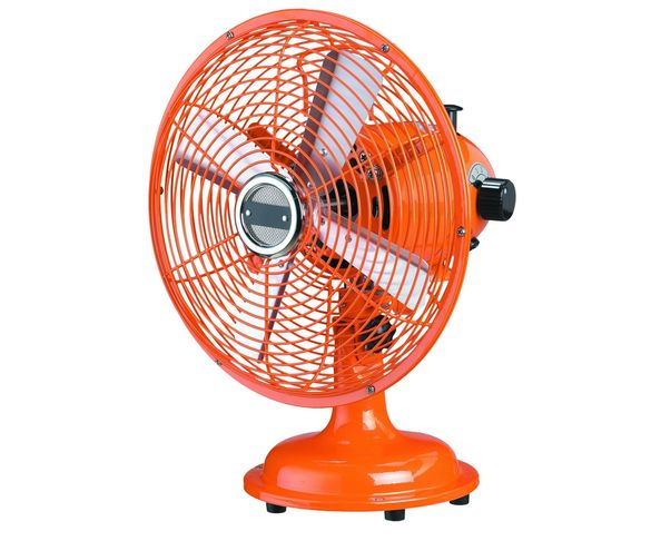 Ventilateur de table orange - Muno