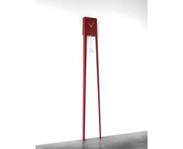 Horloge Tiuku rouge - Covo