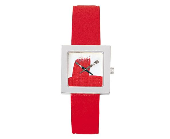 Montre Akteo Peinture rouge kubik
