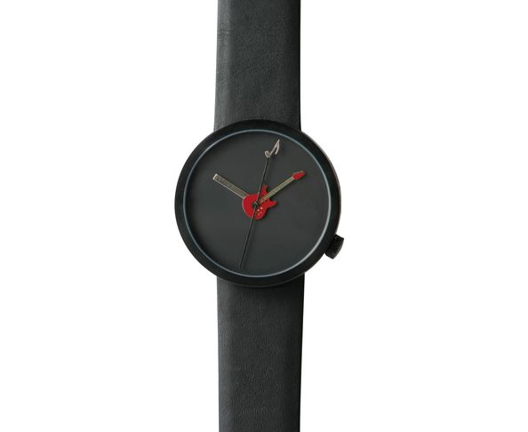 PLUS COMMANDABLE - Montre Akteo Guitare rouge 48