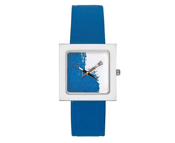 Montre Akteo Peinture Bleue kubik