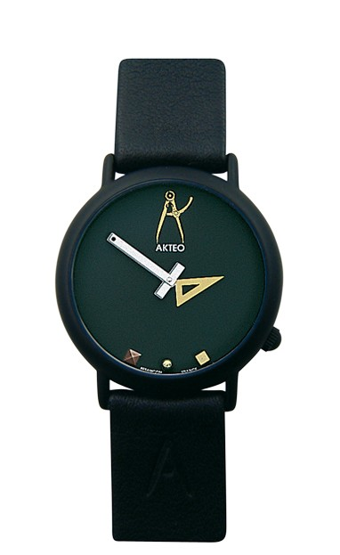 Montre Akteo Architecte 02 black