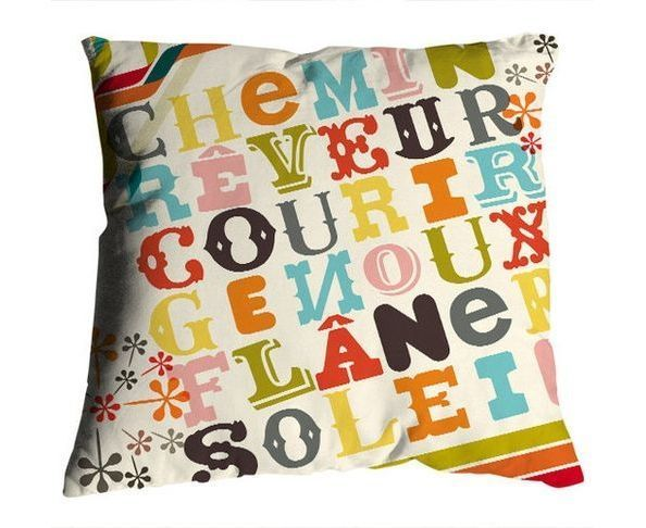 Coussin Alphakids 50x50 - Bonjour Mon Coussin