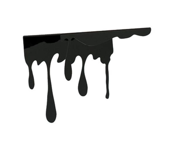 Etagère OUPS ! Noir goutte