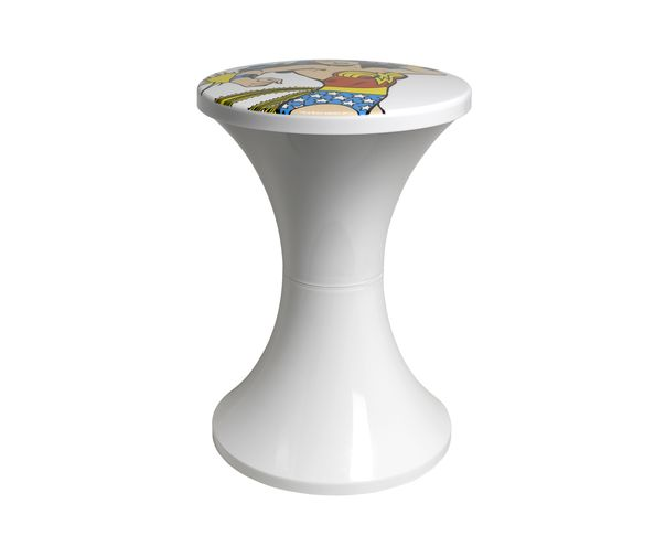 Tabouret Tam Tam Warner Bros Collection Super Heros Wonderwoman - Branex Design