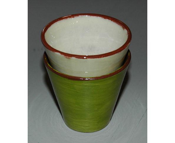 Tasse à café émaillée - Fabrication artisanale