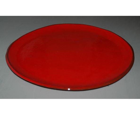 Plat à tarte émaillé - Fabrication artisanale