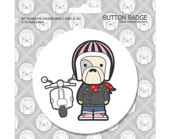 Badge de 6 cm - Petit Raymond
