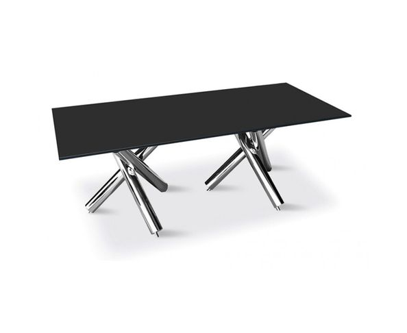 table de repas double tr pied sur deco and me. Black Bedroom Furniture Sets. Home Design Ideas