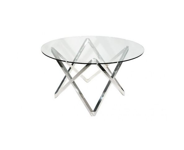 Table de repas ronde design 130 cm