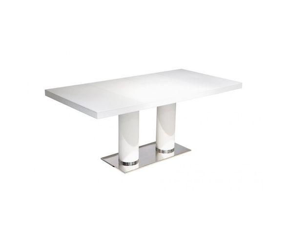 Table de repas blanche