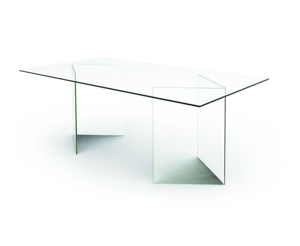 Table de repas / Bureau tout en verre