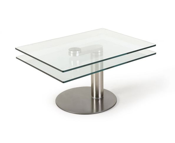 Table basse articulée rectangulaire