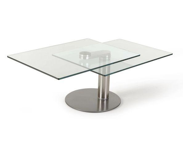 Table basse articulée rectangulaire