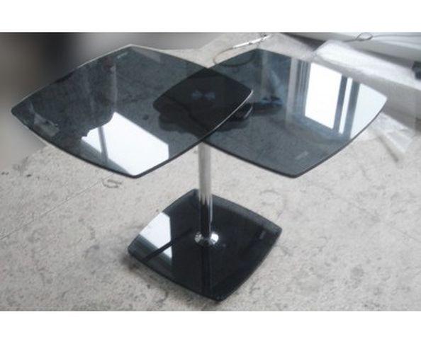 Table d'appoint 2 plateaux articulés