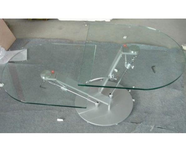 Table basse articulée, avec système de piston