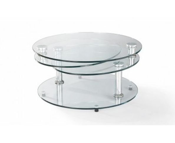 Table basse design contemporaine originale et d cal e for Table en verre de salon