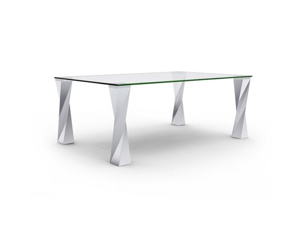 Table de repas pieds métal design