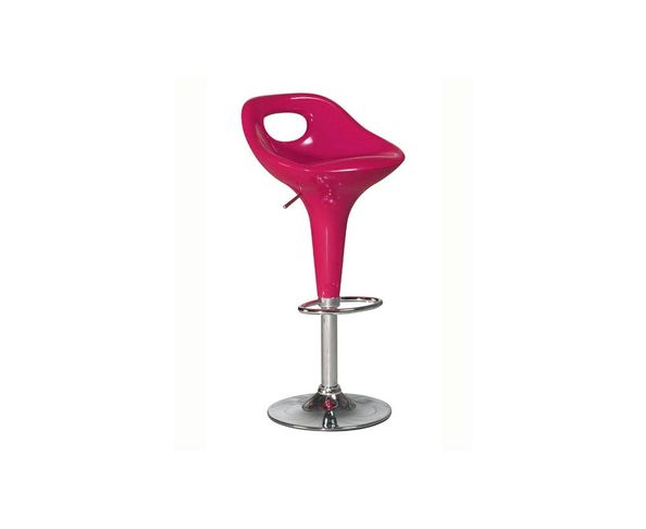 Tabourets de bar Detroit en métal chromé, lot de 2