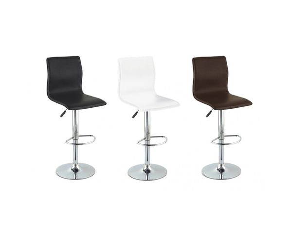 2 chaises de bar pivotantes, lot de 2
