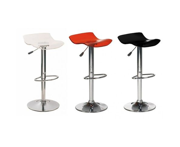 Tabourets de bar contemporain Florence, lot de 2