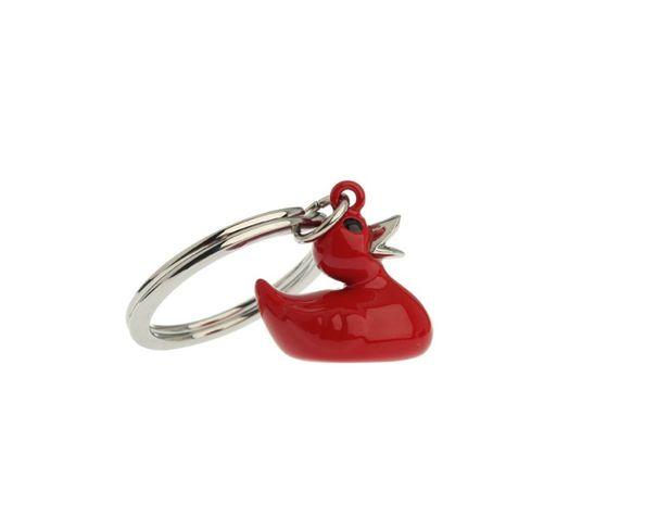 Porte clé canard rouge