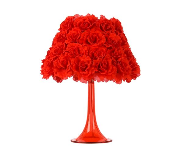 Bloom lampe de table rouge - Muno