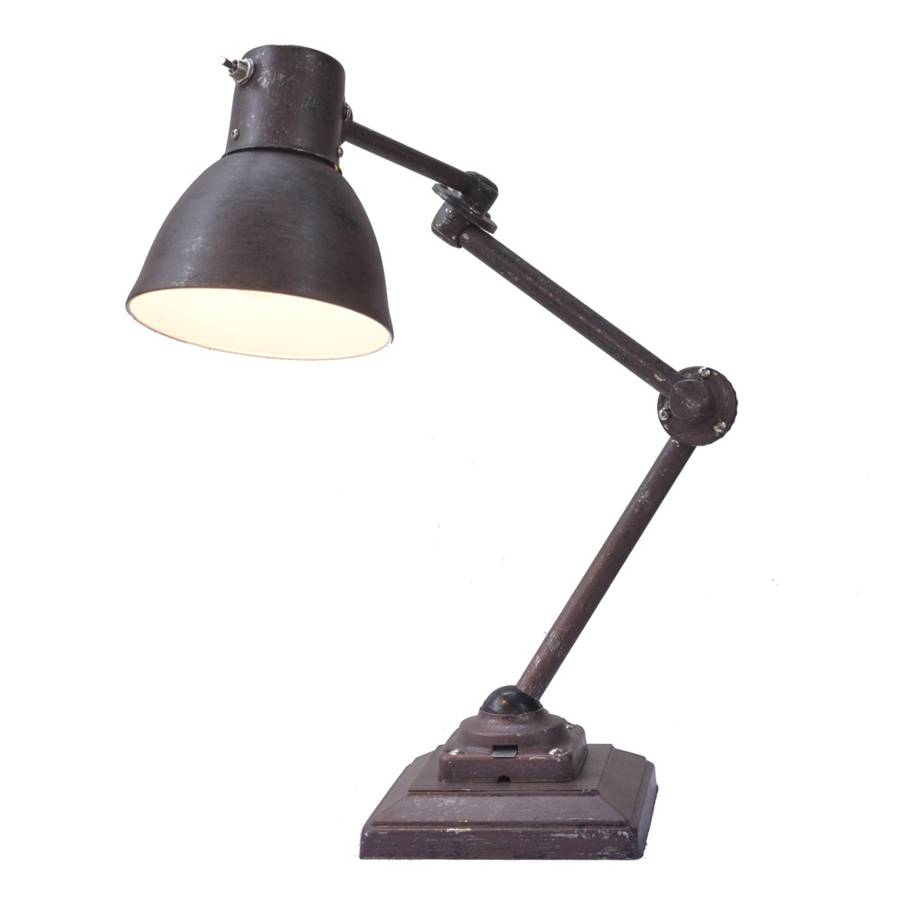 Boris Lampe de Table Rouille - Muno