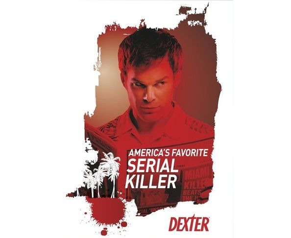 PLUS DISPO Affiche Dexter - Serial Killer - Tirage argentique  - Image Republic