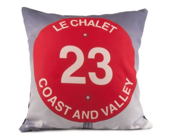 Coussin Le Chalet - 40x40 cm - Coast and Valley