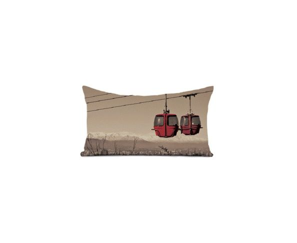 Coussin Skiroom - 40x68 cm - Coast and Valley