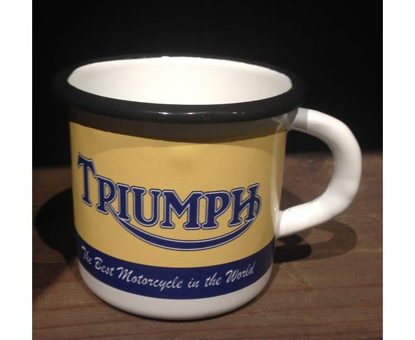 Triumph - Mug émaillé