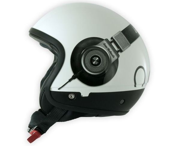Coque de casque Headphone silver semi lucido