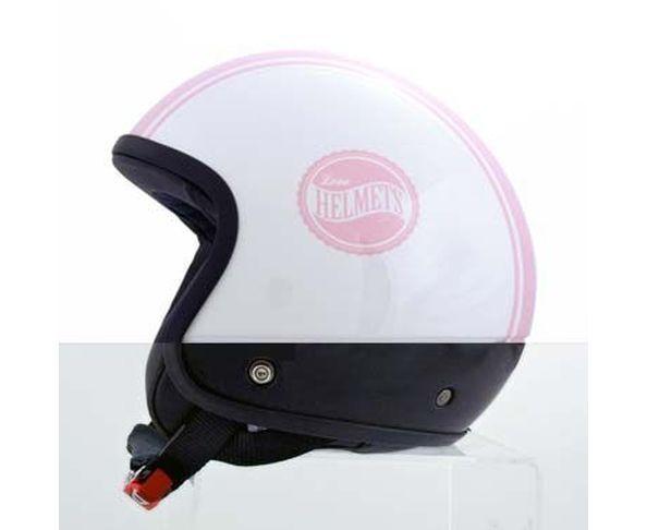 Coque de casque Silver Stripe Pink