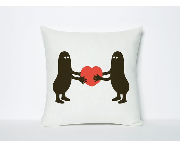 Coussin Domestic I give you my heart