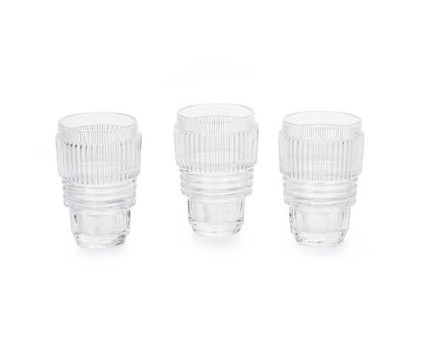 Verres, set de 3 Diam. 8,7cm h.13 - Machine Collection Diesel