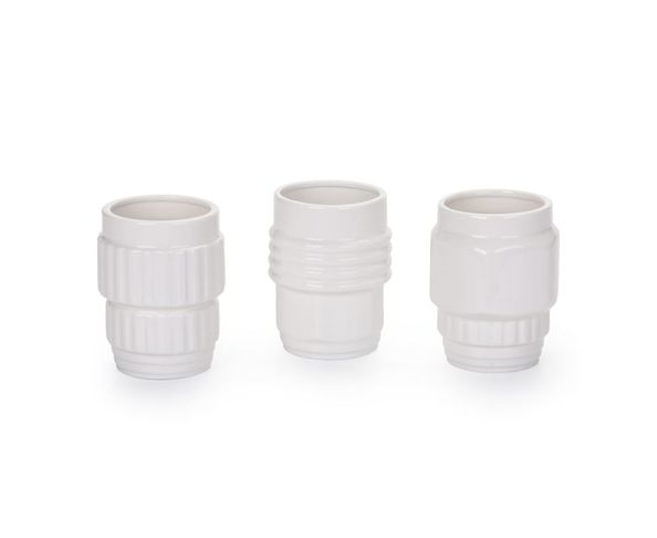 Mug en porcelaine, set de 3, Cm.8,5 h.11 - Machine Collection Diesel