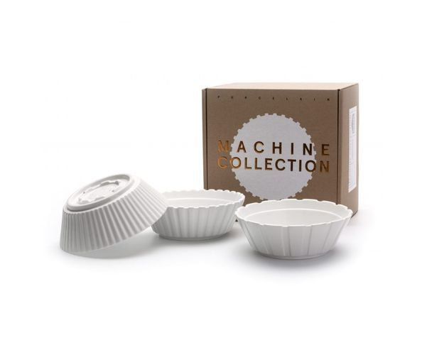 Saladiers en porcelaine, set de 3 - Machine Collection Diesel