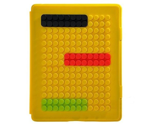 Coque iPad2 Brick  Jaune