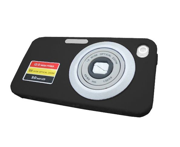 Coque iPhone Caméra noire