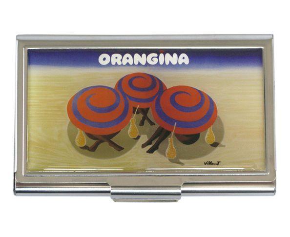 Orangina - Etui à cartes