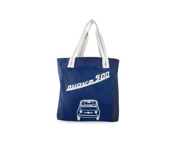 Sac en toile Fiat - Bleu