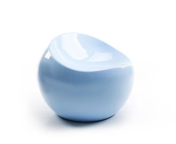 Baby Ball Chair Blue Pastel Finn Stone - XL Boom