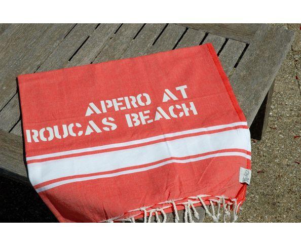 Fouta Apéro at Roucas beach Corail