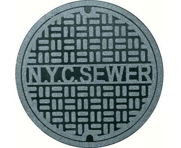 Tapis bouche d'égout NYC