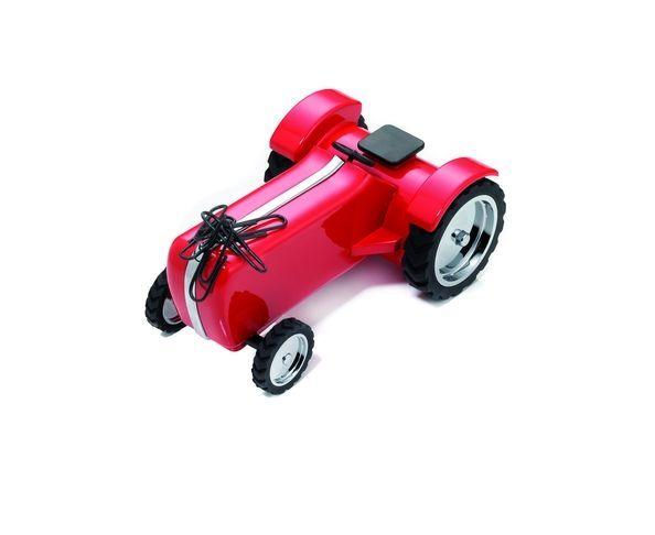 Tracteur rouge - Troika